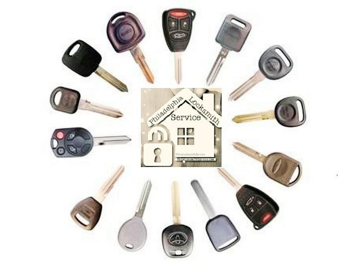 Transponder keys - PHL Locksmith service